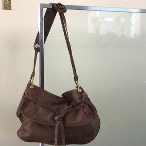 BCBGMaxazria genuine leather shoulder bag